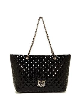 vernice-quilted-tote by love-moschino
