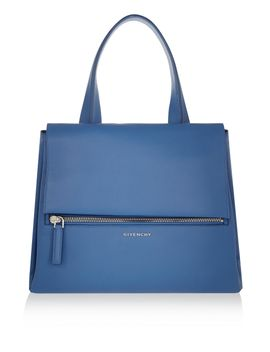 medium-pandora-pure-bag-in-blue-textured-leather by givenchy