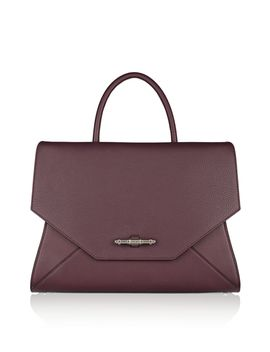 medium-obsedia-bag-in-burgundy-textured-leather by givenchy