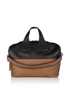 medium-nightingale-bag-in-black-and-tan-leather by givenchy