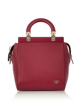 small-house-de-givenchy-bag-in-red-leather by givenchy