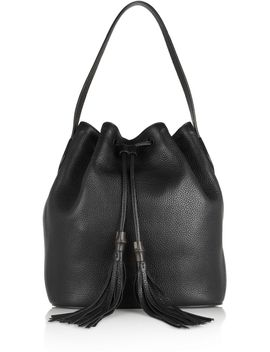 lady-tassel-textured-leather-bucket-bag by gucci