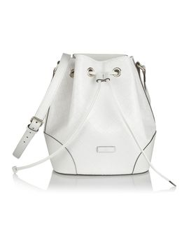 bright-diamante-textured-leather-bucket-bag by gucci