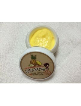 alpha-arbutin-aha-80-pineapple-body-cream-whitening-lighting-bleaching-skin-30g by ebay-seller