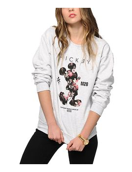 neff-x-disney-mickey-og-crew-neck-sweatshirt by neff