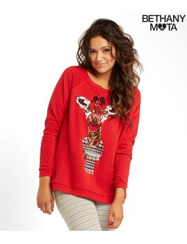 sequin-giraffe-sweatshirt by aeropostale