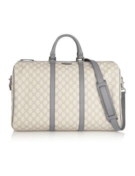 joy-travel-monogrammed-coated-canvas-duffle-bag by gucci