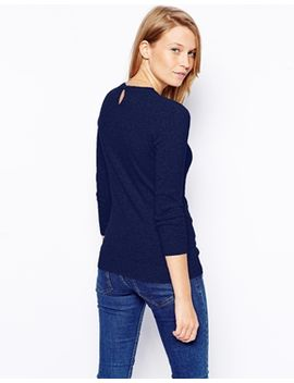 asos-jumper-with-keyhole-back by asos-collection