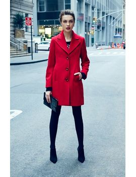 wool-blend-walking-coat by kristen-blake