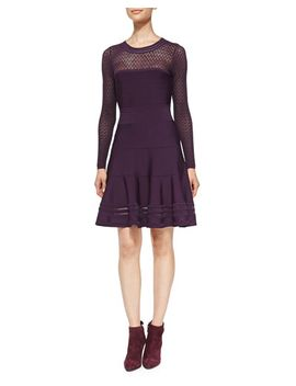 body-conscious-knit-fit-and-flare-dress by diane-von-furstenberg
