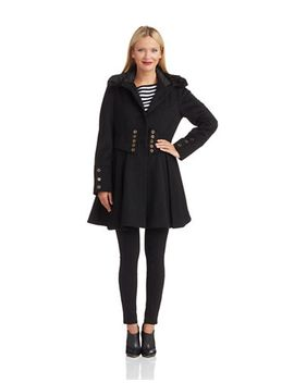 corsett-fit-and-flare-coat by betsey-johnson