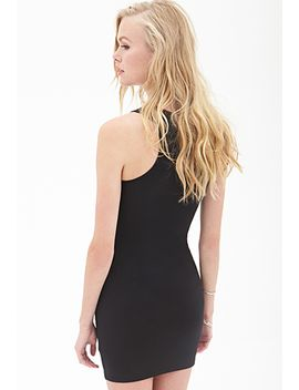 v-neck-bodycon-dress by forever-21