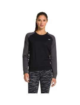 under-armour-womens-lodge-crewneck-long-sleeve-shirt by armour®