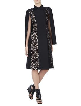 genevieve-lace-cape-dress by bcbgmaxazria