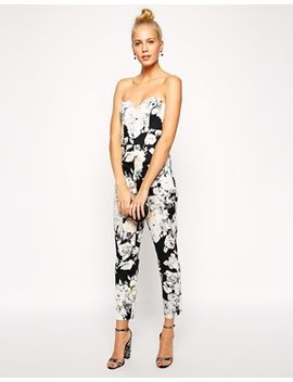 asos-printed-occasion-jumpsuit by asos-collection