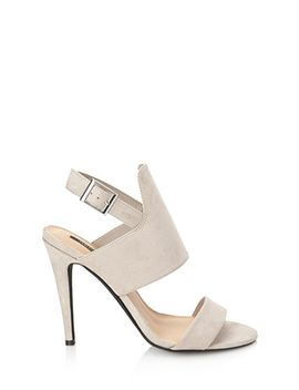 faux-suede-stiletto-sandals by forever-21