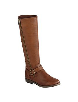route-66-womens-halden-knee-high-cognac-fashion-boot by kmart