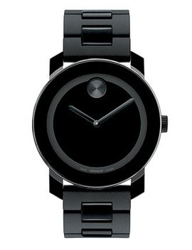 unisex-swiss-bold-large-black-polymer-bracelet-watch-42mm-3600047 by movado
