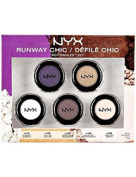 hot-singles-5pc-runway-chic-set by nyx-cosmetics