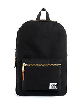 herschel-supply-co-black-settlement-backpack by herschel-supply