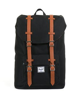 herschel-supply-co-little-america-black-11l-mid-volume-backpack by herschel-supply