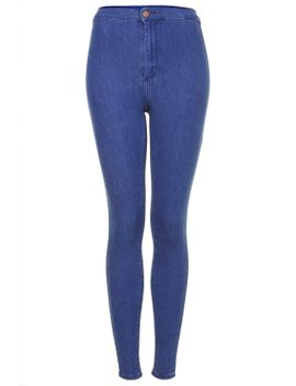 moto-pansy-blue-wash-joni-jeans by topshop