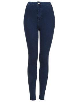 moto-dark-vintage-wash-joni-jeans by topshop