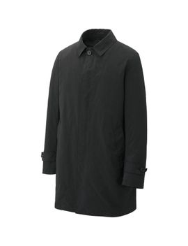 men-light-comfort-soutien-collar-coat by uniqlo