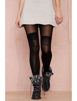secret-socks-tights---black by nasty-gal