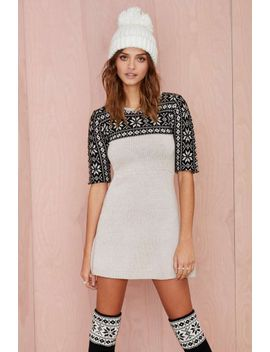knitz-by-for-love-and-lemons-ice-queen-sweater-dress by nasty-gal