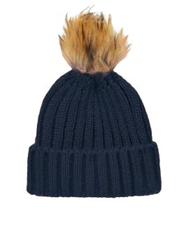 pom-ribbed-beanie by topshop