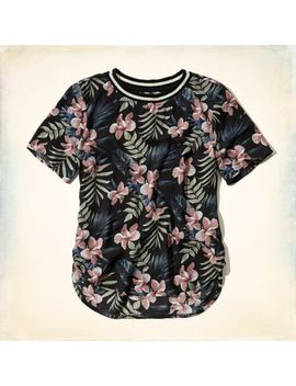 must-have-curved-hem-t-shirt by hollister