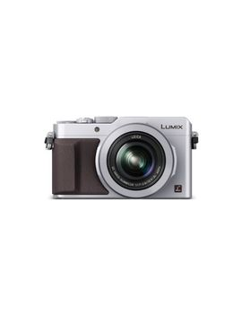 panasonic-lumix-lx100-4k-point-and-shoot-camera,-31x-leica-dc-vario-summilux-f17-28-lens-with-power-ois,-128-megapixel,-dmc-lx100s-(usa-silver) by panasonic