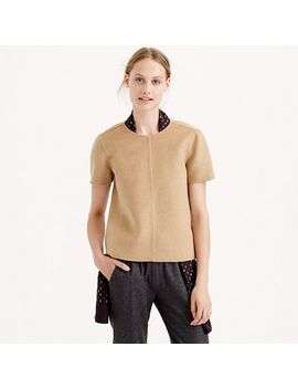 collection-double-faced-cashmere-t-shirt by jcrew