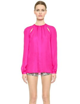side-keyhole-blouse by tamara-mellon