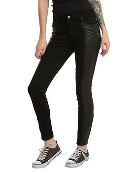 joan-jett-tripp-nyc-black-twill-skinny-jean by hot-topic
