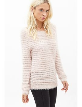 eyelash-knit-ribbed-sweater by forever-21