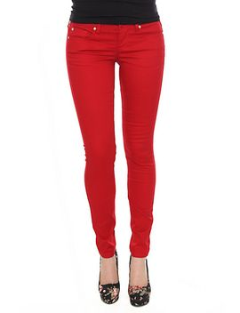 lovesick-red-skinny-jeans by hot-topic