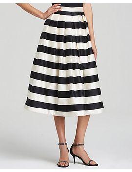 tibi-skirt by escalante-stripe-print