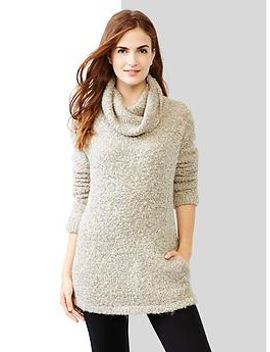 boucle-turtleneck-sweater by gap