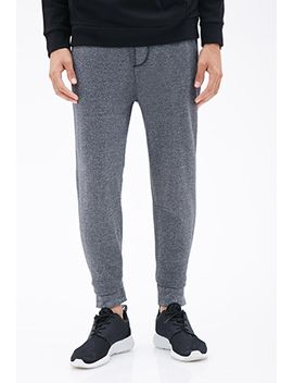 heathered-drawstring-sweatpants by forever-21