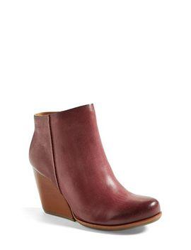 natalya-burnished-leather-demi-wedge-boot by kork-ease®