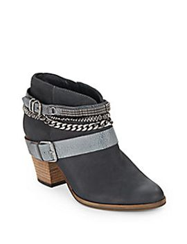 yazmin-chain-&-buckle-suede-ankle-boots by dolce-vita