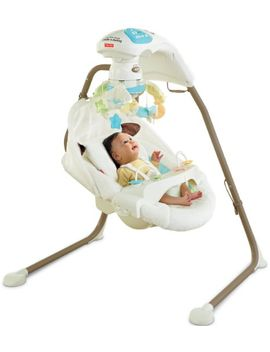 fisher-price-cradle-n-swing-with-ac-adapter,-my-little-lamb by fisher-price