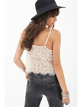 tiered-lace-cami by forever-21