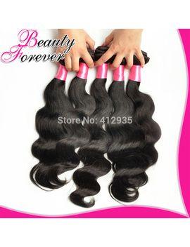 beauty-forever-brazilian-virgin-hair-body-wave-7a-brazilian-hair-weaves-4-bundles-virgin-brazilian-body-wave-human-hair-weaving by ali-express