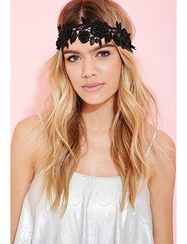 beaded-rose-headband by forever-21