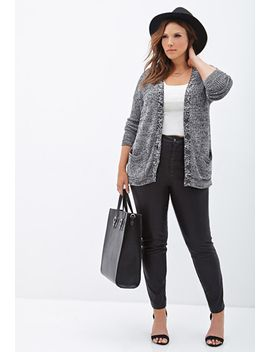 heathered-knit-cardigan by forever-21