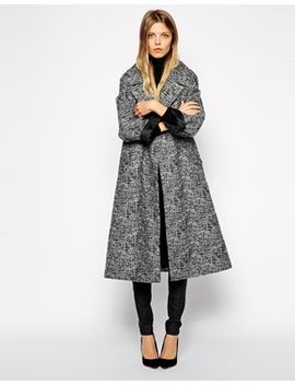 asos-coat-in-midi-swing by asos-collection