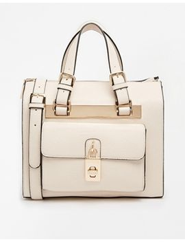 dune-darton-bag-with-padlock-detail-in-cream by dune